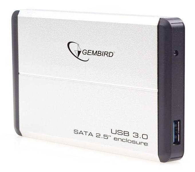 Внешний корпус для 2.5' HDD Gembird (EE2-U3S-2) SATA--USB3.0, Black
