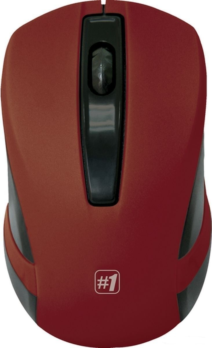 Мышь Defender беспроводная MM-605 красная