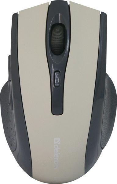 Мышь Defender беспроводная Accura MM-665 красный, 6 кнопок, 800-1600 dpi