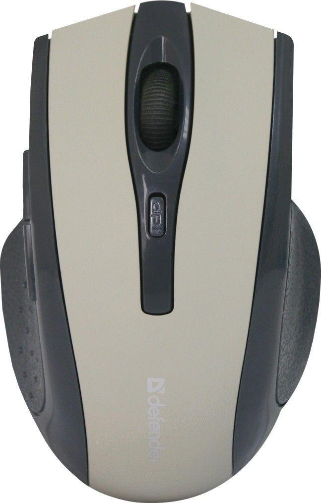 Мышь беспроводная Defender Accura MM-665 чёрный, 6 кнопок, 800-1600 dpi