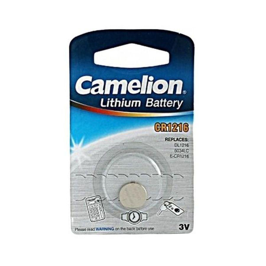 Батарейка CR1216 Camelion, в блистере 1шт