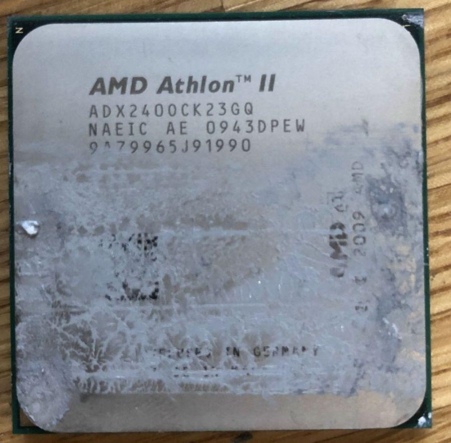 Процессор AMD Athlon II X2 240 (ADX2400CK23GQ), 2 ядра, 2.8 ГГц, кэш 2 Мб + , 45 нм, 65W