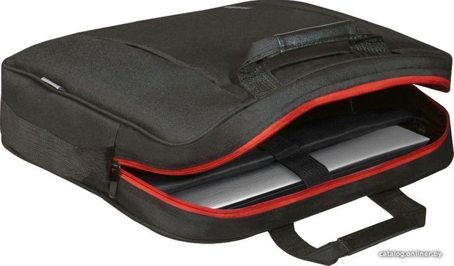 Сумка для ноутбука Defender Geek 15.6' черный, карман