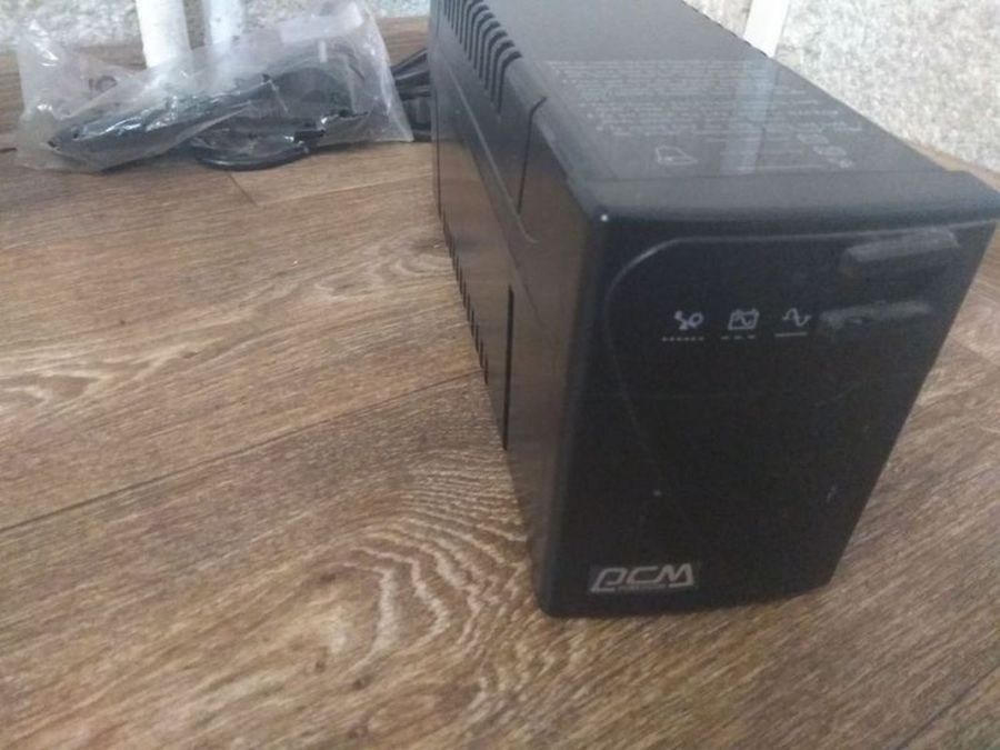 ИБП PCM BNT-600A БУ, (новая батарея)