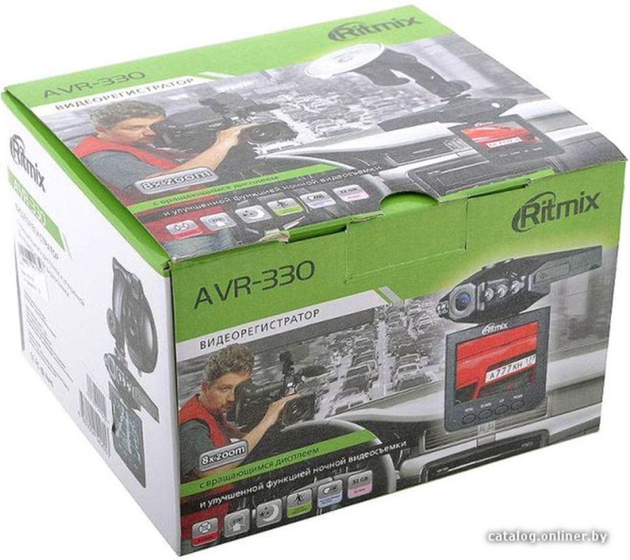 Видеорегистратор RITMIX AVR-330 NP