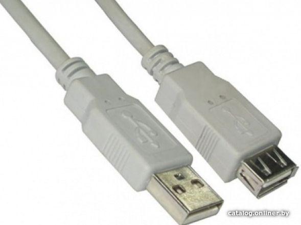 Удлинитель USB 5bites UC5011-018C USB 2.0, 1,8m