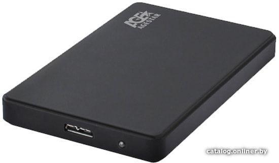 HDD case 2.5' Agestar 3UB2P2 (SATA, USB 3.0) Black