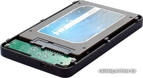 HDD case 2.5' Agestar 3UB2P1 (SATA, USB 3.0) Black