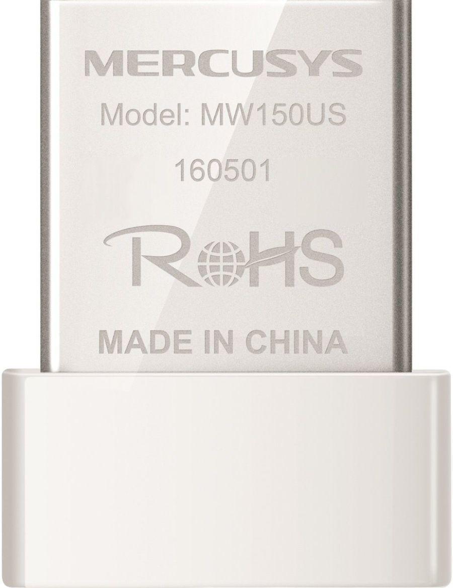 Беспроводной USB2.0 адаптер Mercusys MW150US (USB 2.0)