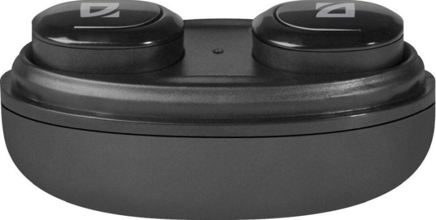 Беспроводная гарнитура Defender Twins 635 черный, TWS, Bluetooth