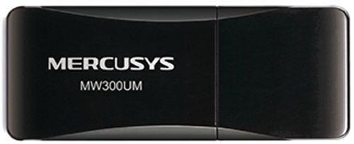 Беспроводной USB2.0 адаптер Mercusys MW300UM (USB, 300Мбит)