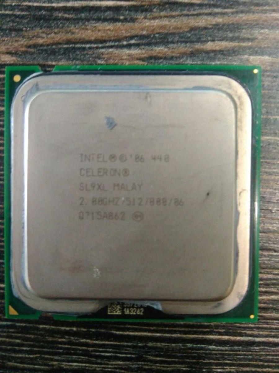 Процессор Intel Celeron 440 (SL9XL) /LGA775/1 ядро/2 ГГц