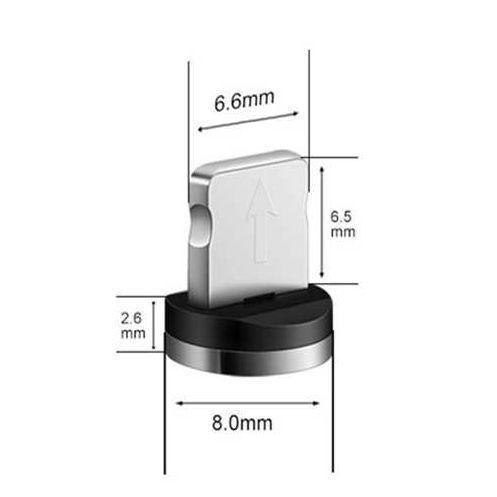 Магнитная головка USLION Lightning iPhone для магнитного зарядного кабеля