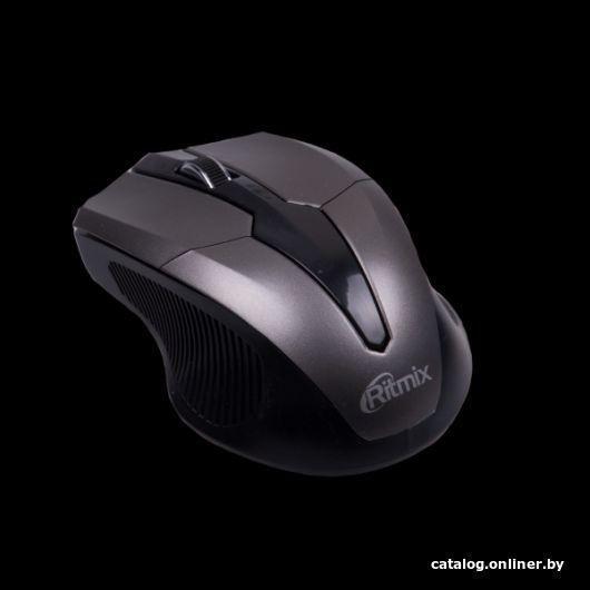 Мышь Ritmix RMW-560 Black-Gray
