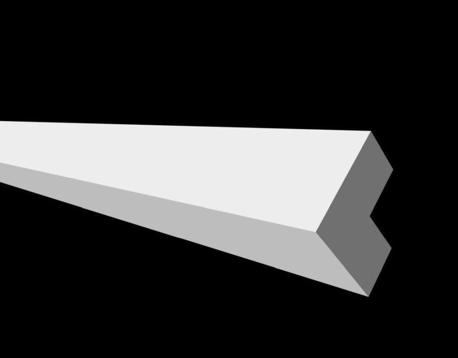 DD802/Угол (20x20x2000мм)/  80 шт