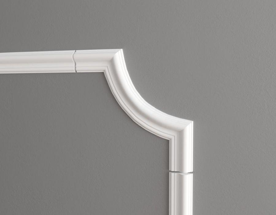 С1-DD301/Декоративный уголок гладкий (215*215*16мм)/4 шт. в упаковке
