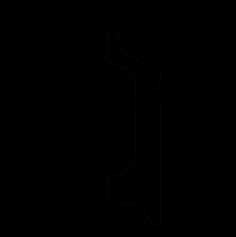 DD122/Плинтус широкий  (78x21x2000мм)/18, ШТ.