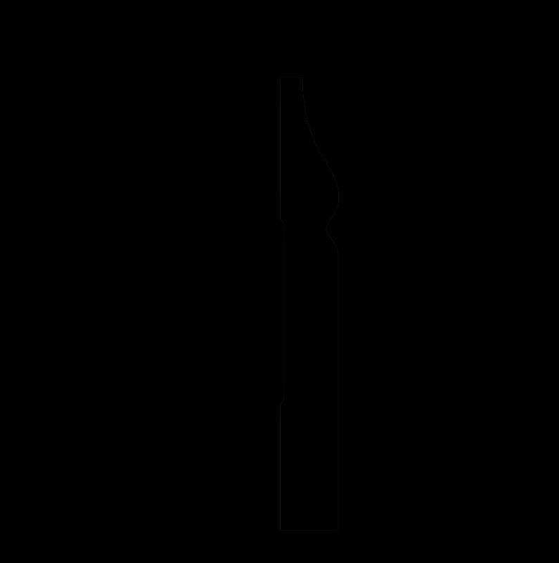 DD48/Плинтус (82x11x2000мм)/28, ШТ.