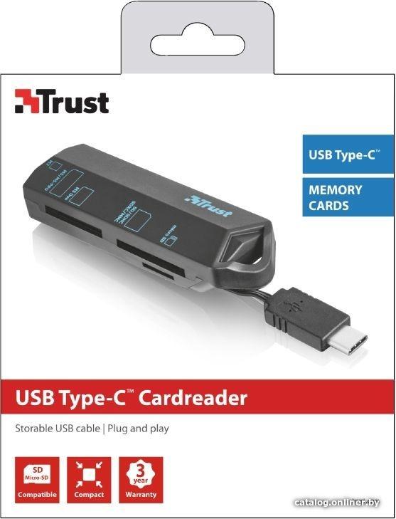 Trust USB-C Cardreader (20968)
